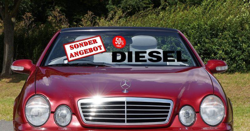 Wertverfall bei Dieselfahrzeugen