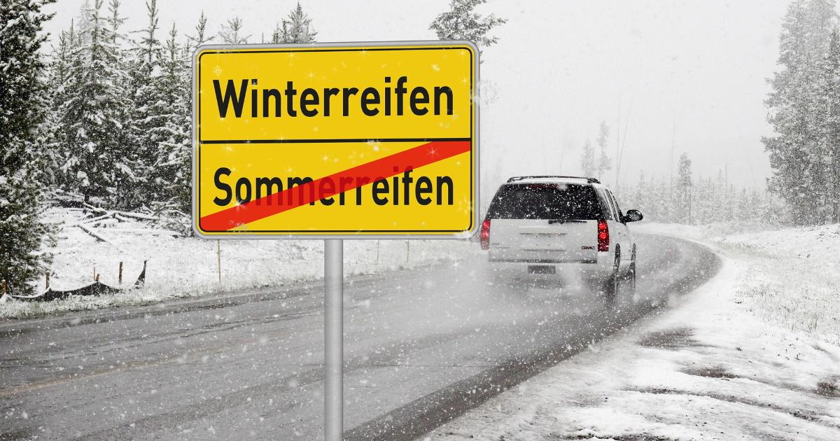 Seit 1. November gilt die situative Winterausrüstungspflicht